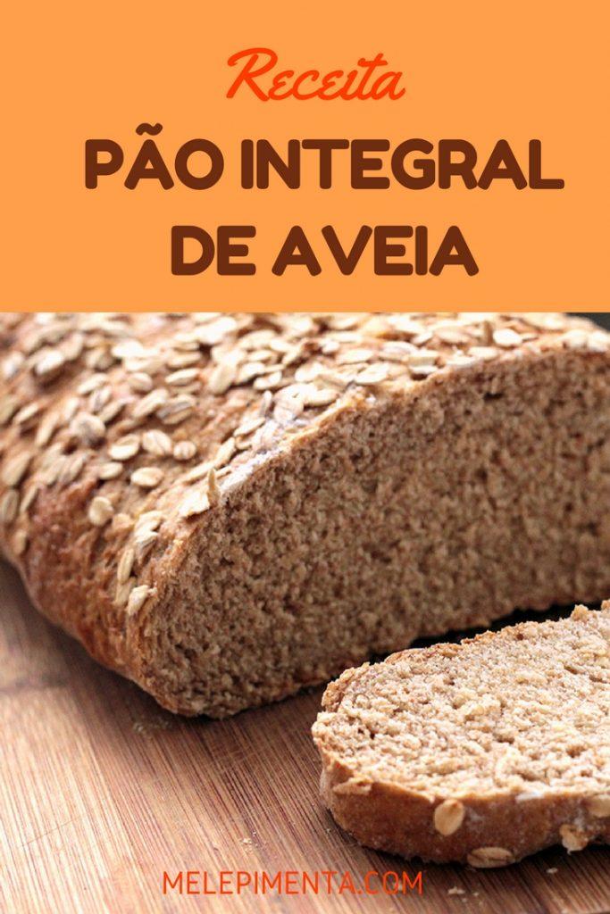 Confira a receita desse delicioso pão integral de aveia
