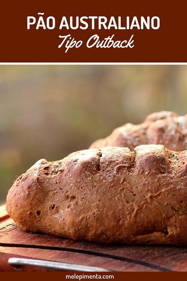 Pão Australiano e manteiga do Outback - Aprenda a fazer na sua casa o pão igual ao do outback, fácil, delicioso e perfeito para ser servido com a manteiga cremosa do outback. Faça seu pão australiano em casa.