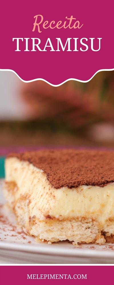Tiramisu, a tradicional receita feita com queijo mascarpone, biscoito champanhe, sabor intenso de café e toque de cacau. Faça o tiramisu caseiro e conquiste a todos com esse clássico da culinária italiana.
