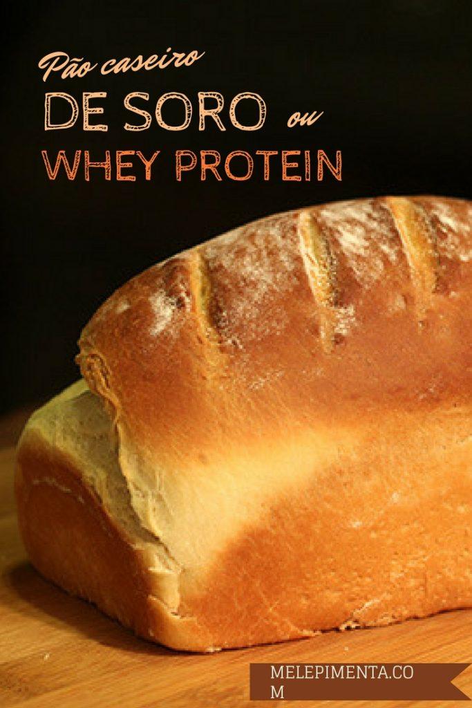 Pão de soro de leite | Whey Protein - Faça em casa um pão macio e muito saboroso, para o preparo você vai aproveitar o soro do iogurte, queijos e coalhada. O resultado é um pão macio e simplesmente delicioso. Ele também pode ser feito na versão integral. Faça pão caseiro e apaixone-se.