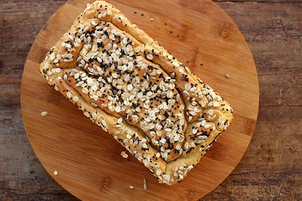 Pão sem glúten – Fácil e saboroso