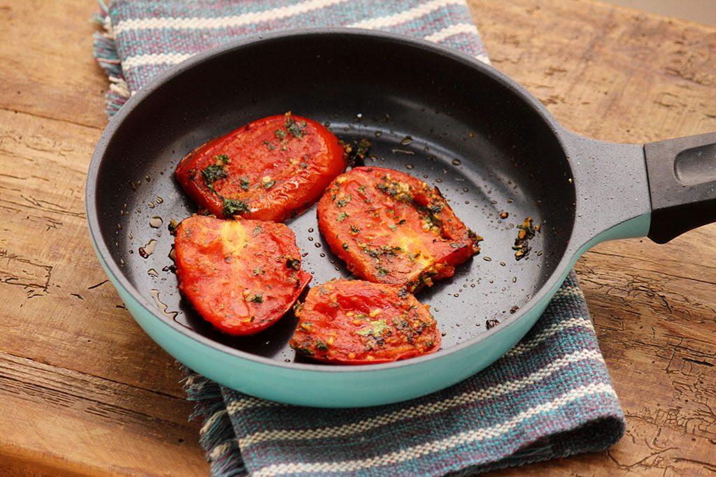 Receita de tomates fritos
