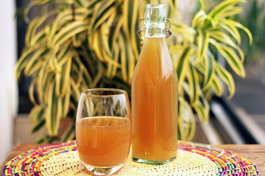Aluá de abacaxi