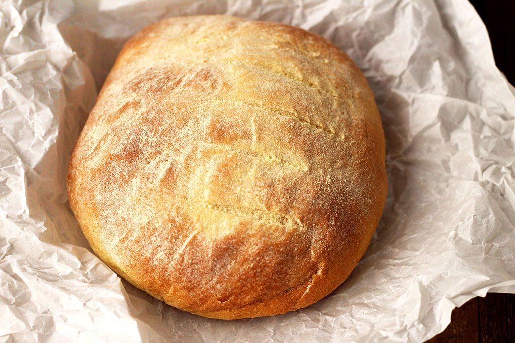 Um delicioso pão de milho caseiro para você preparar.