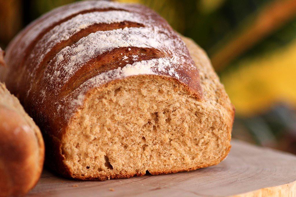 Receita de pão de batata e centeio