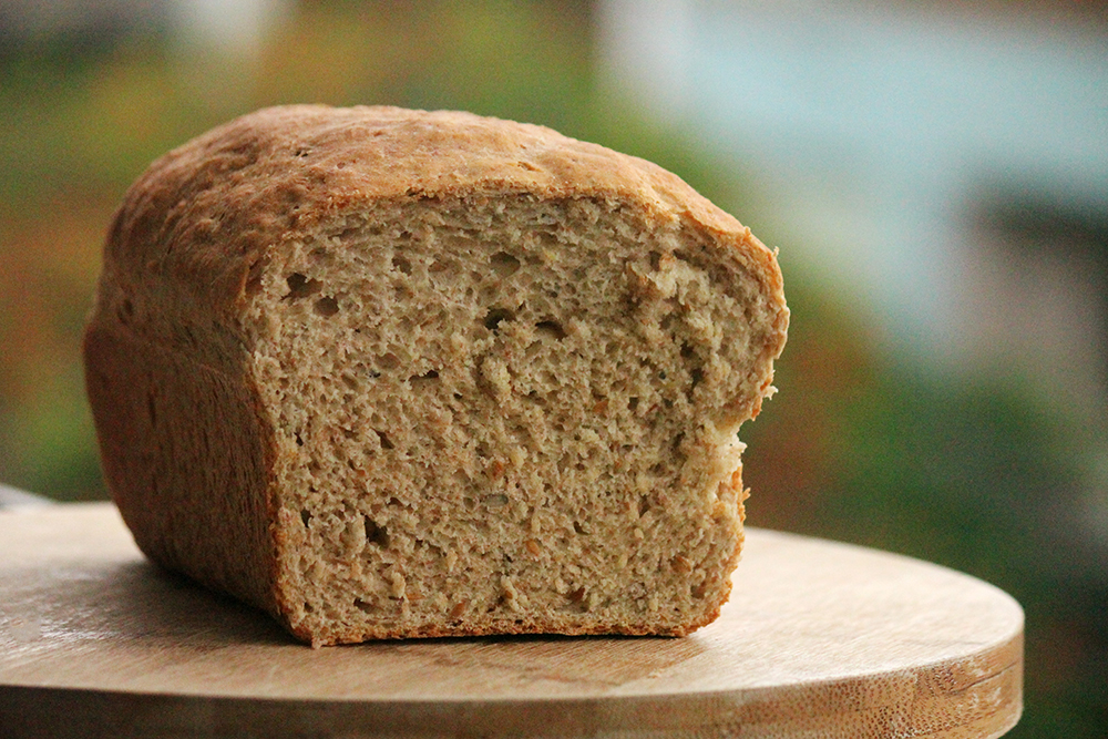 Pão integral de batata e grãos - Rico em fibras e delicioso