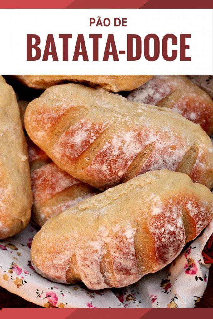 Receita Pãezinhos de batata-doce. Confira a receita e prepare esse pão de batata-doce delicioso em casa.