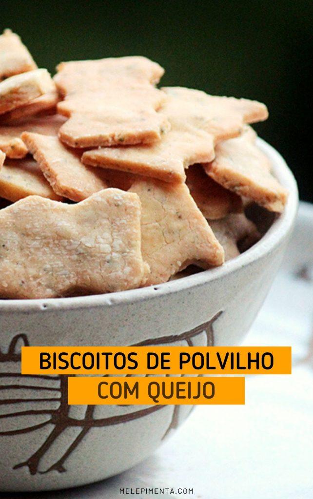 Biscoitinhos de polvilho e queijo