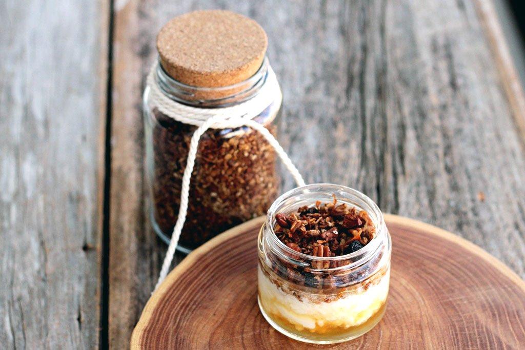 receita de granola caseira