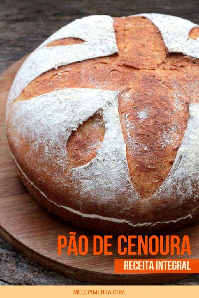 aça essa deliciosa e nutritiva receita de pão integral de cenoura. O pão de cenoura é fácil de fazer e muito saudável. Veja a receita e faça pão caseiro.
