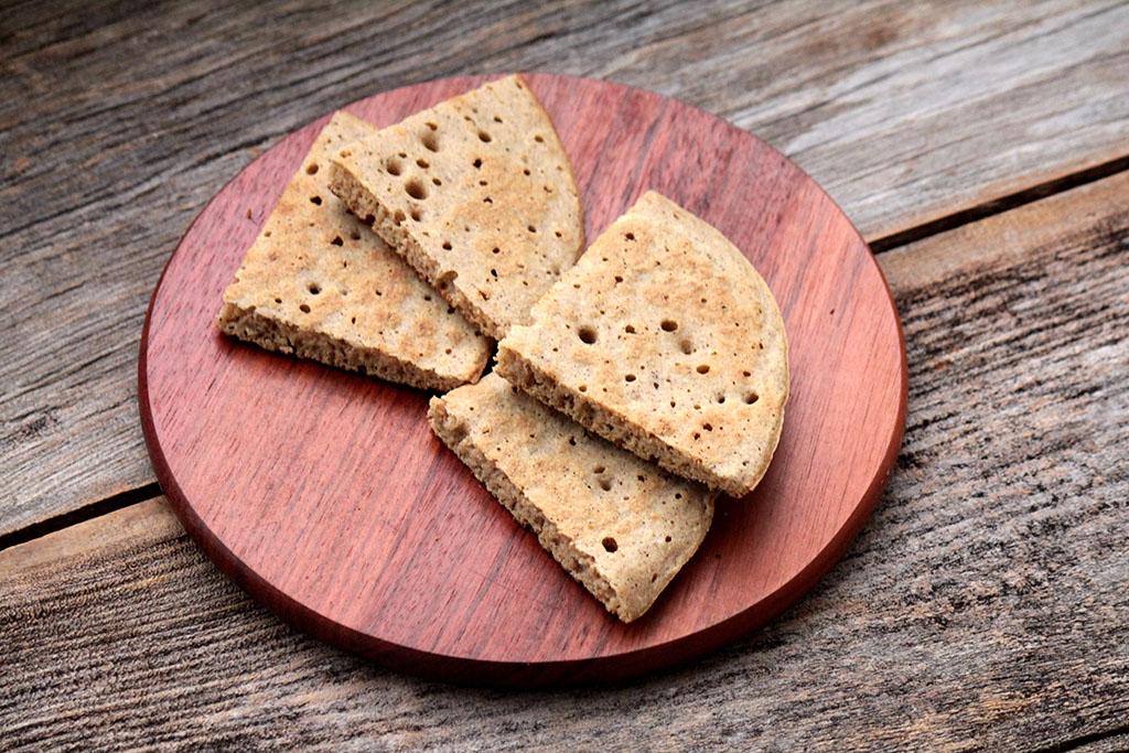 Pão de frigideira de polvilho - Sem glúten