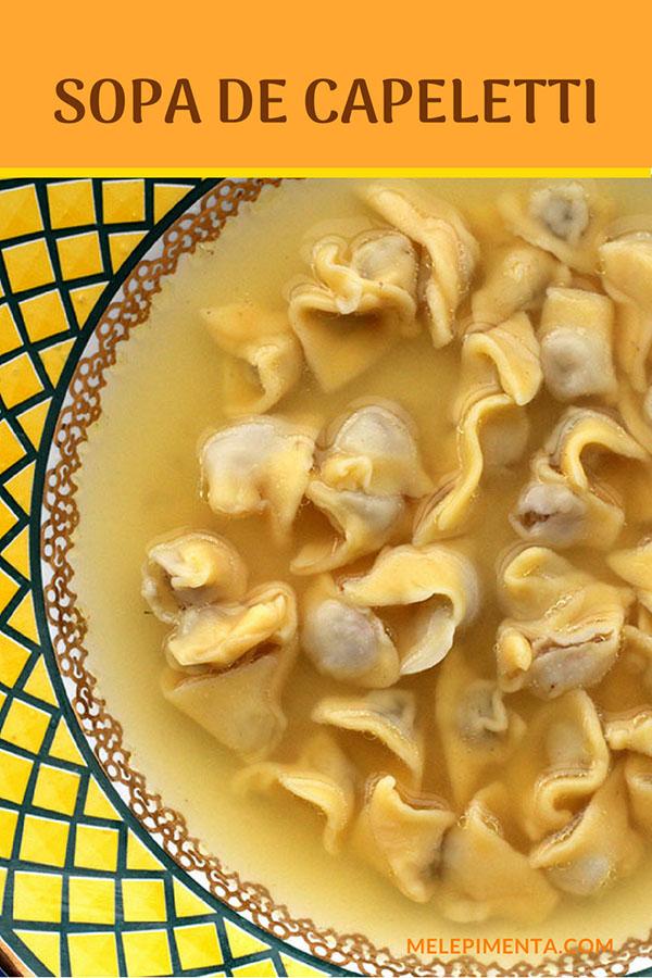 Sopa de capeletti - Prepare uma verdadeira sopa de capeletti. Essa sopa é um prato tradicional da culinária do sul do país, das regiões colonizadas por italianos. Prepare uma sopa de capeletti in brodo e sirva com a típica carne lessa.