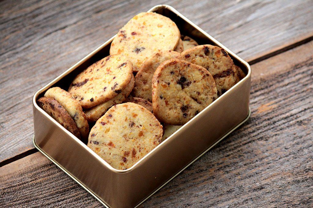 Biscoitos amanteigados caseiros
