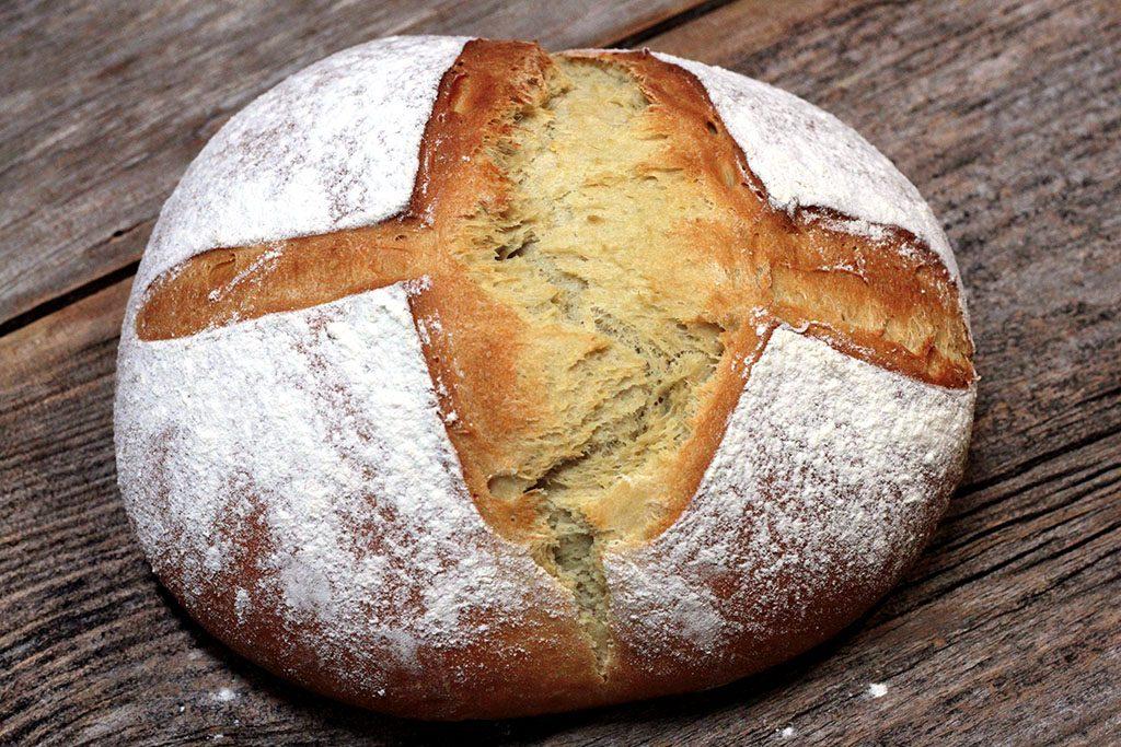 Receita de pão de abacate