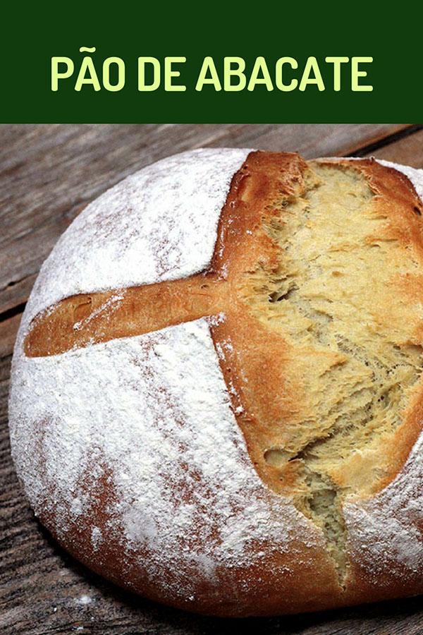 Pão de abacate - uma receita de pão deliciosa, macia e saudável. Faça esse pão de abacate maravilhoso na sua casa. Prepare mais pães em casa.