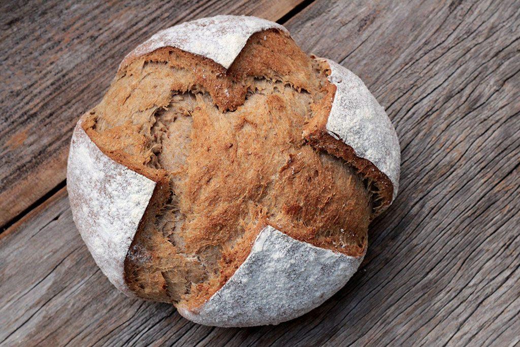 Receita de pão integral de nozes