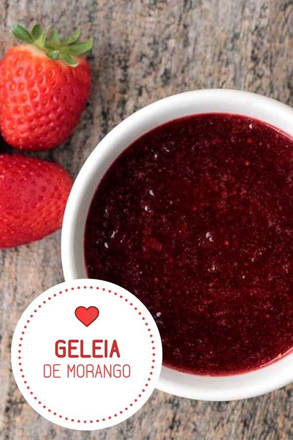 Receita de geleia de morango caseira e deliciosa - Faça uma deliciosa geleia de morango, fácil, deliciosa e saudável. Faça em casa!! Geleia caseira é sempre mais saudável.