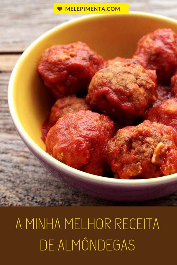 A minha melhor receita de almôndegas de carne - Prepare na sua casa essas deliciosas almôndegas de carne feitas com uvas passas e cozidas em um autêntico molho vermelho. A receita é fácil e incrivelmente saborosa.