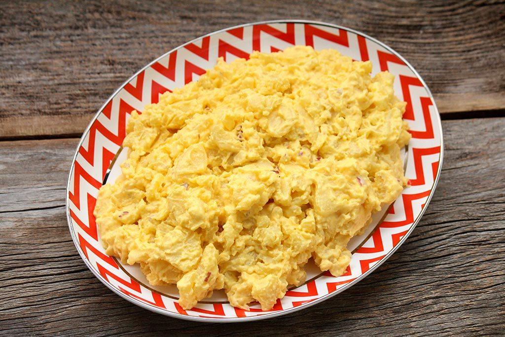 Maionese de cenoura - Caseira e sem ovos