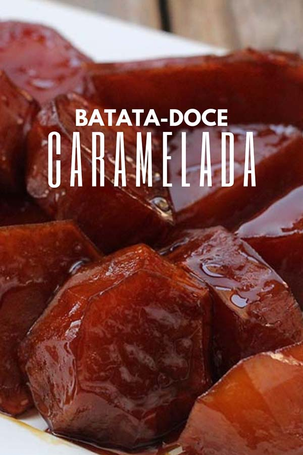 Receita de batata-doce caramelada