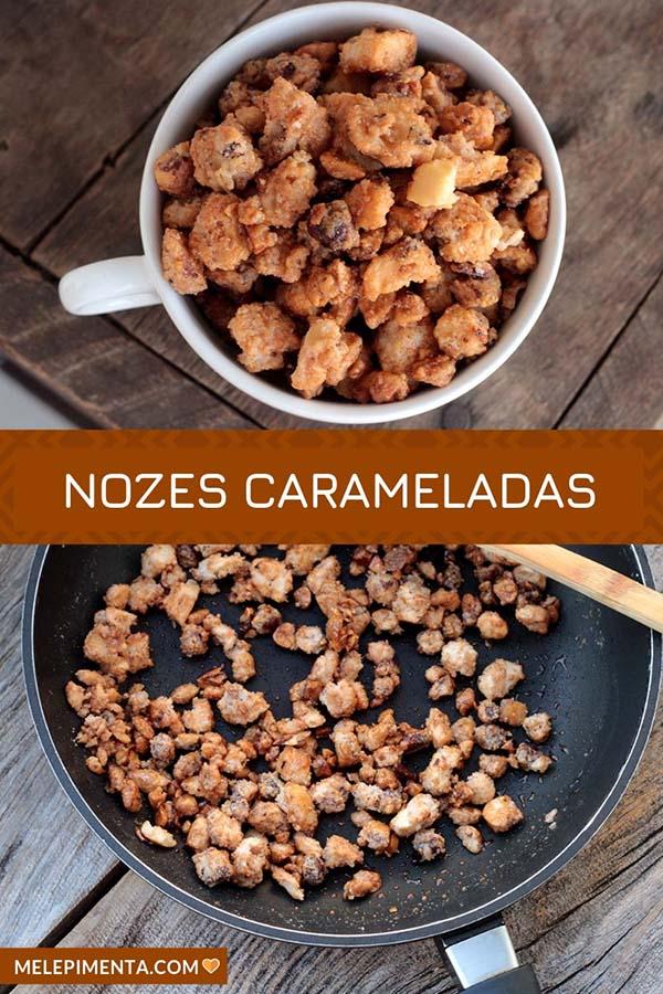 Aprenda a fazer nozes caramelizadas