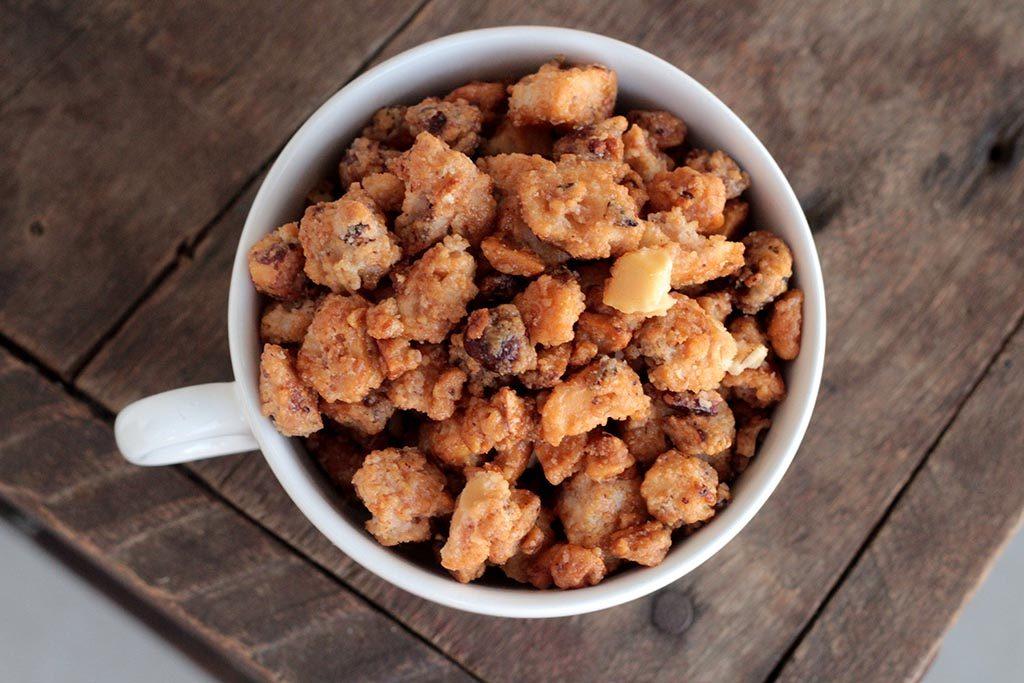 Nozes carameladas | Nuts caramelizadas