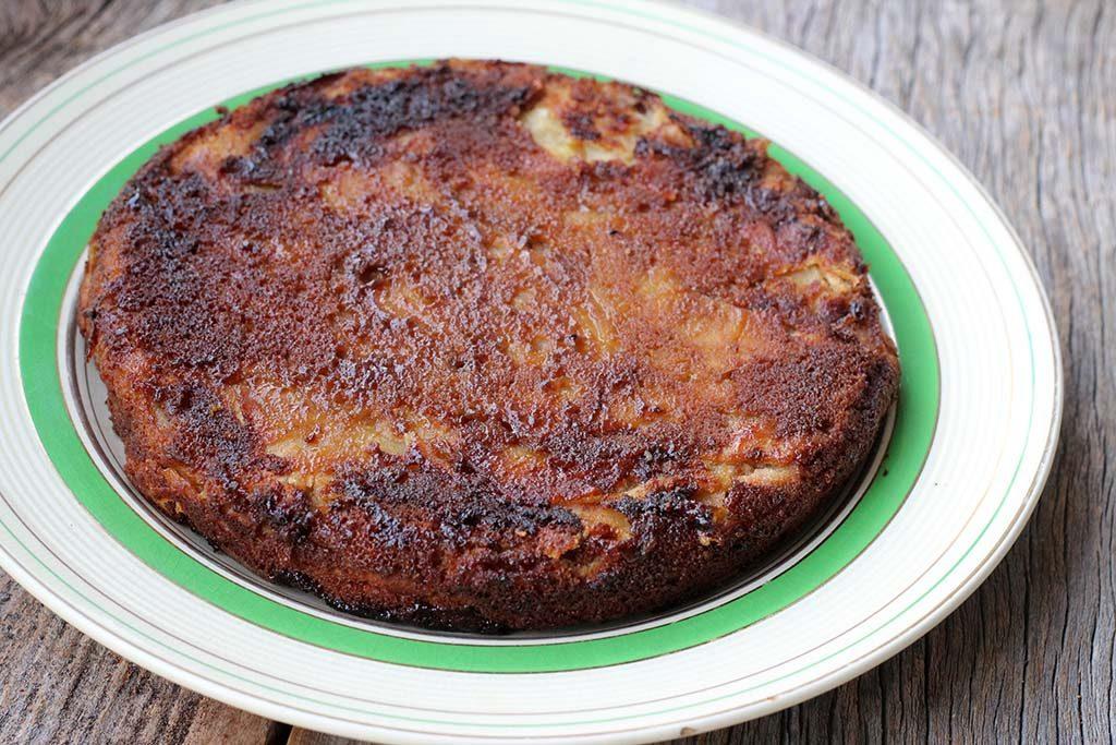 Torta de maçã invisível fácil e gostosa