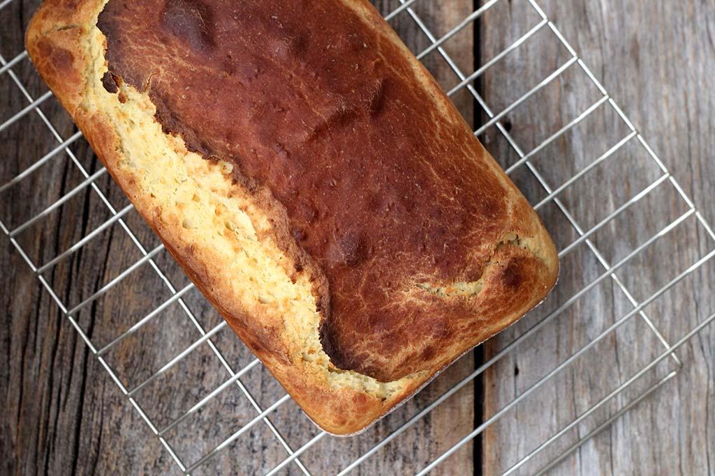 Pão de liquidificador com milho verde