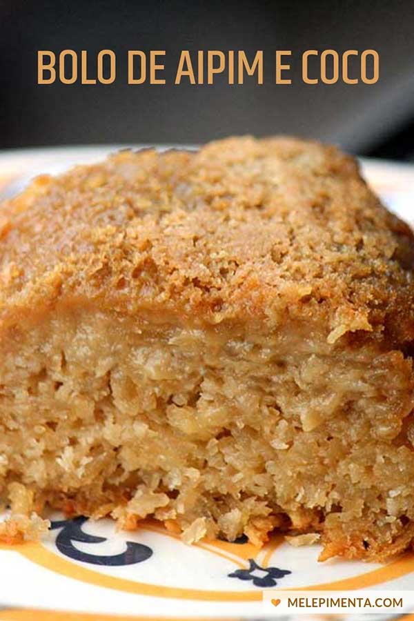 Receita de torta de mandioca sem glúten