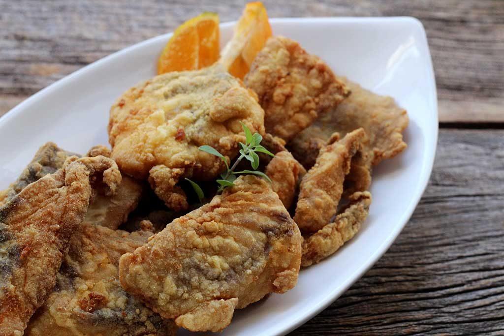 Como fazer file de peixe frito crocante e sequinho