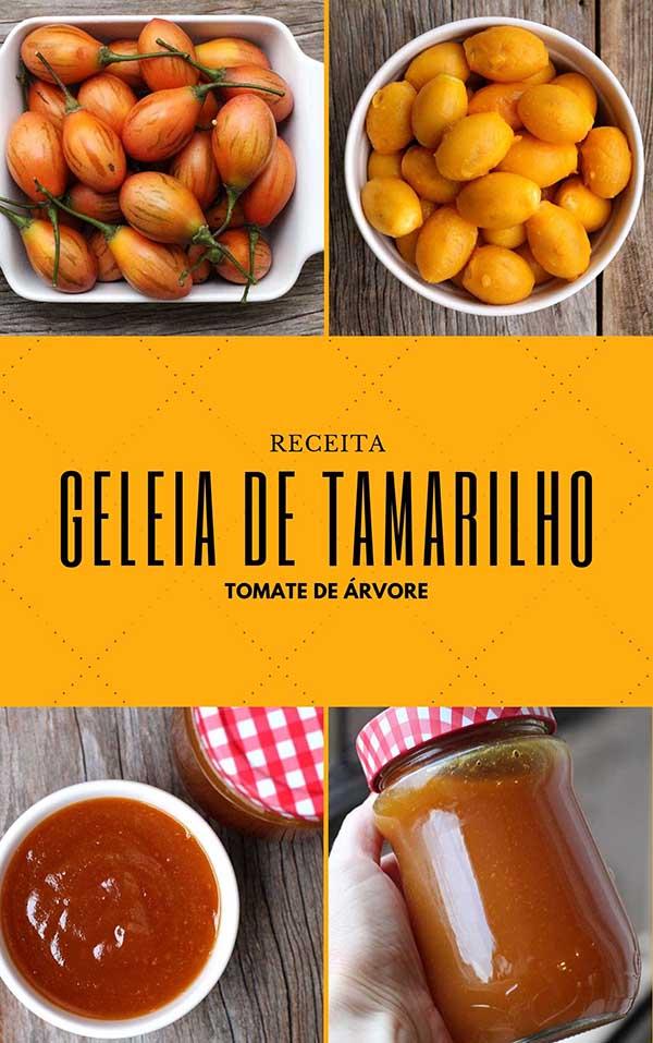 Geleia de tamarilho ou tomate de árvore