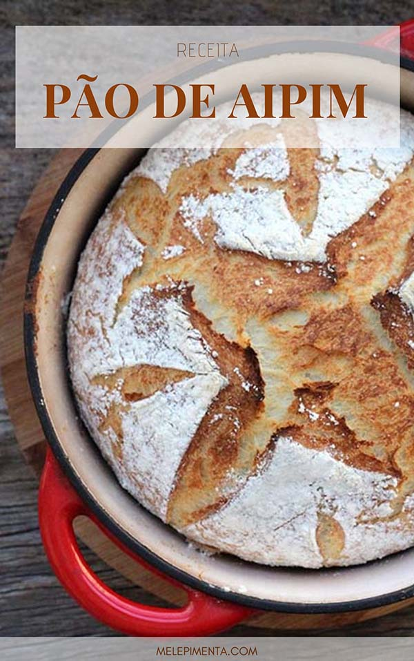 Aprenda a fazer um pão feito com mandioca