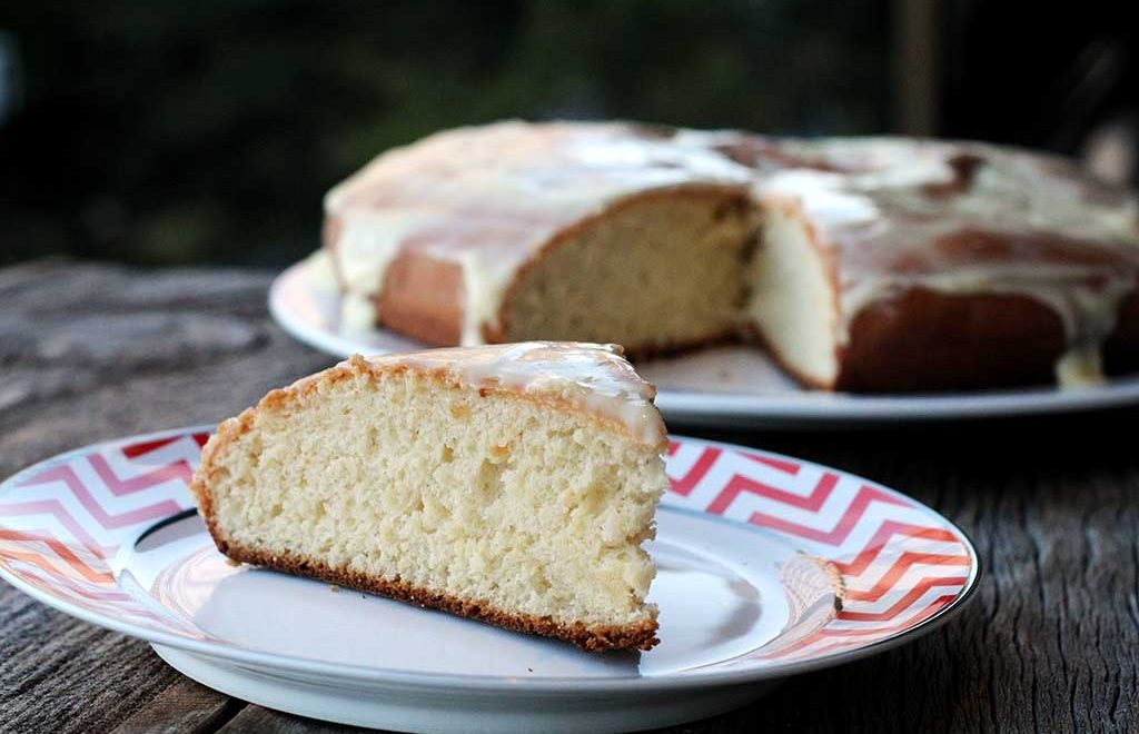 Pão doce de nata