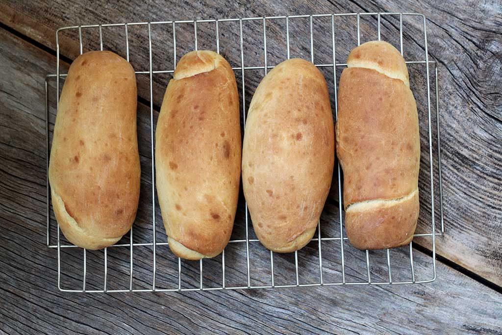 Pão de nata para sanduíche