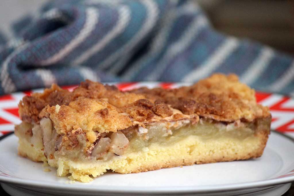 Torta de maçã polonesa - Szarlotka