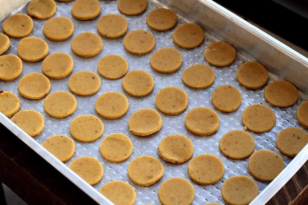 Cookies de manteiga e farinha de milho