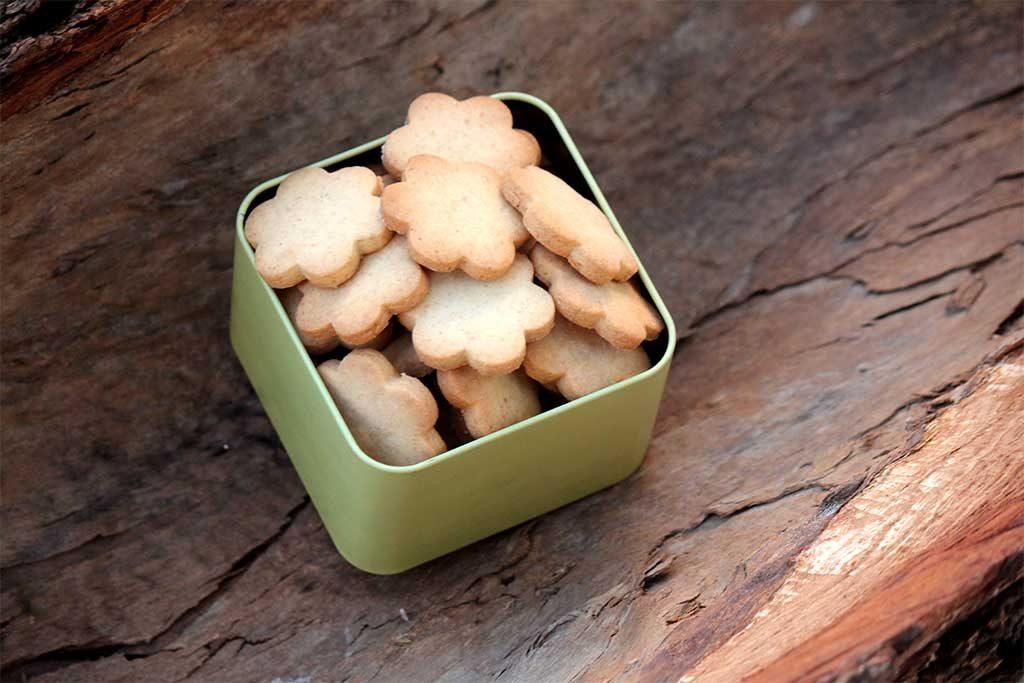 Biscoito caseiro fácil - Crocantes sem lactose