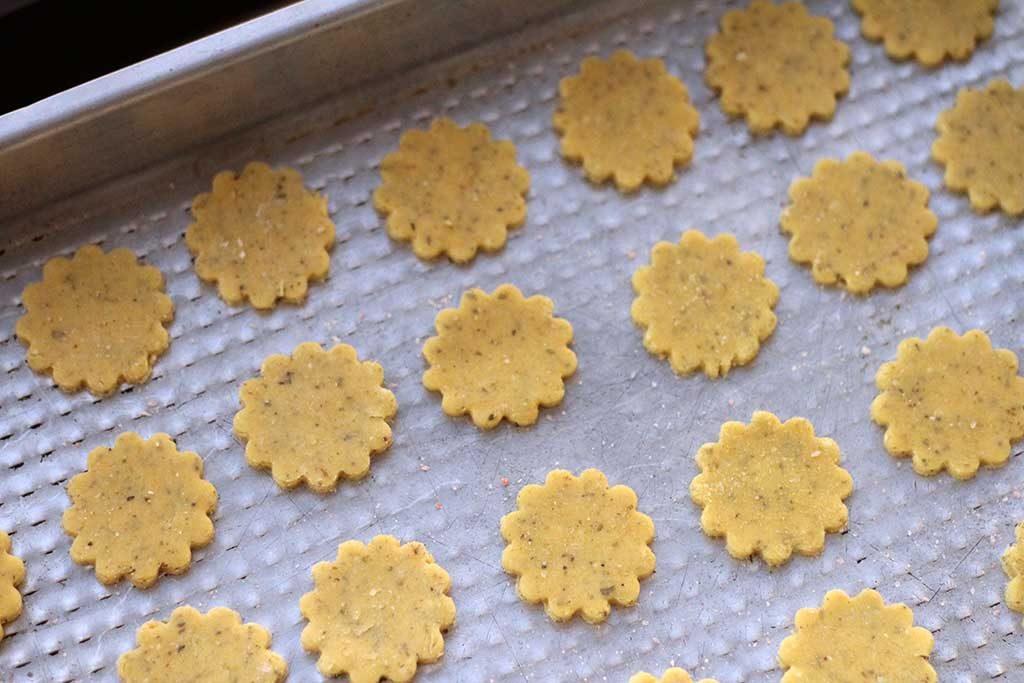 cookies de farinha de milho