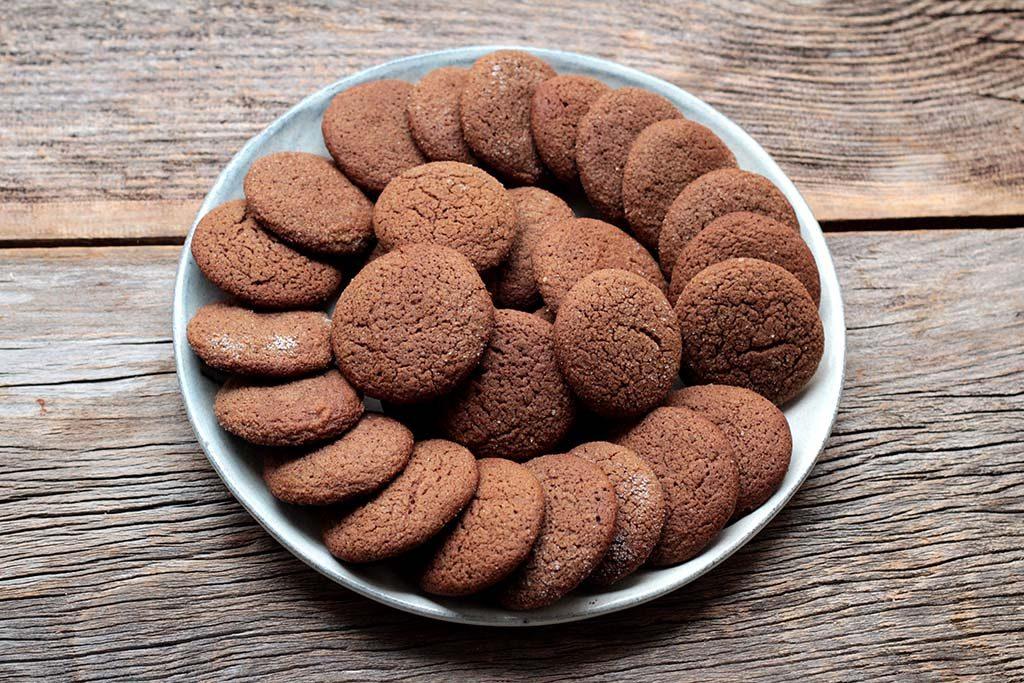 Receita fácil de Biscoitos caseiros de chocolate e especiarias