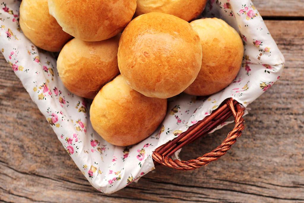 Pão de leite fofinho caseiro