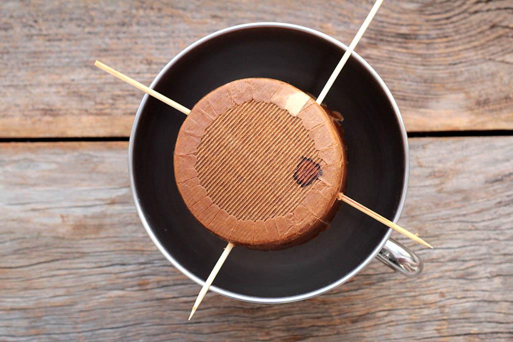 Panetone de chocolate caseiro - Sem lactose