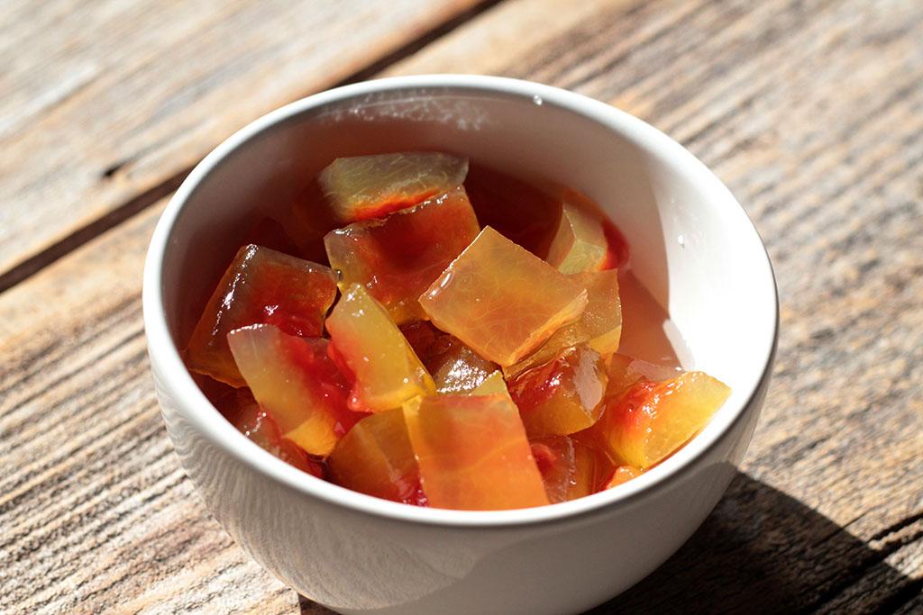 Como fazer doce de casca de melancia