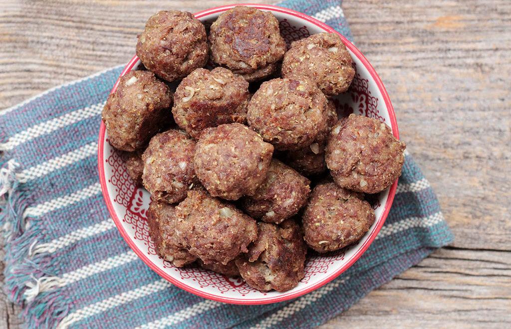 Bolinhos de carne com couve-flor – Fácil e delicioso
