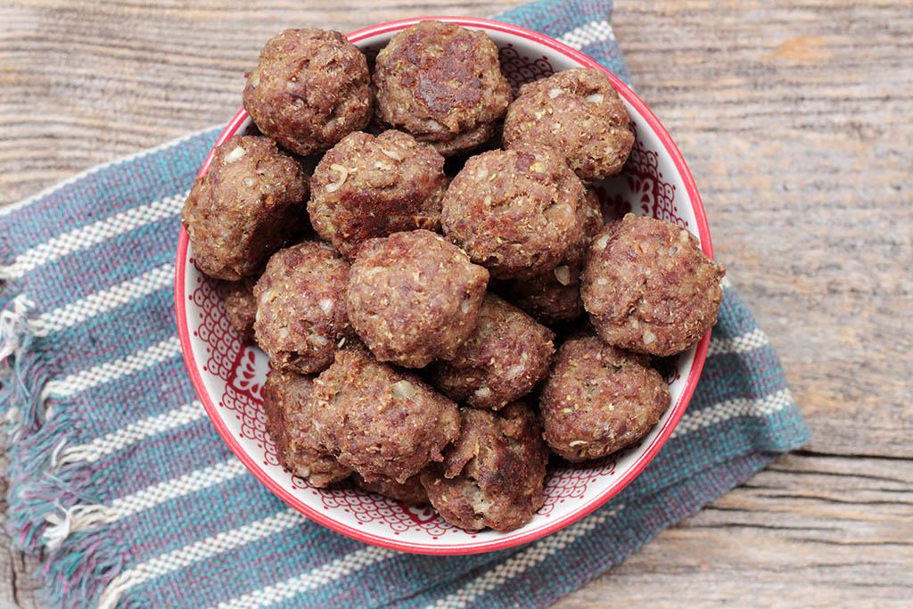 Bolinhos de carne com couve-flor - Fácil e delicioso
