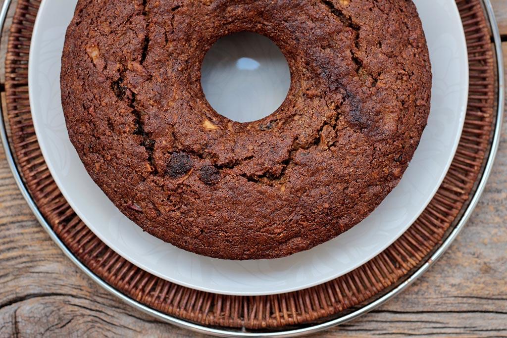 Bolo de maçã integral e fofinho - O famoso bolo da bruxa