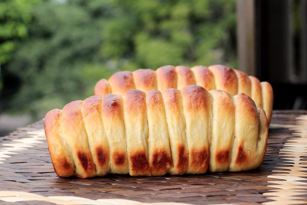 Pão de banana fofíssimo