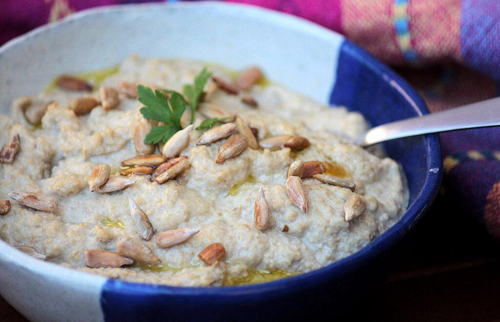Pasta de sementes de girassol – Receita vegana