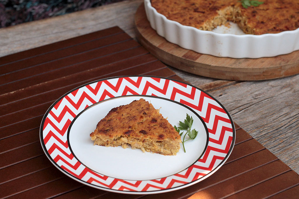 Torta de frango com batata-doce | Lowcarb e deliciosa