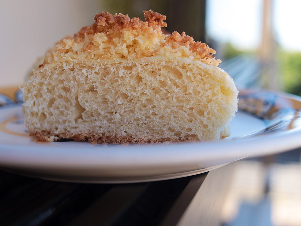Pão doce de coco | Pão de Deus