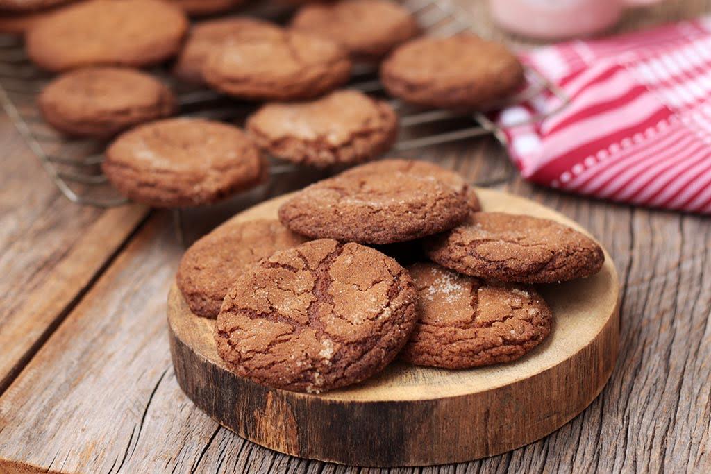 Cookies de açúcar mascavo e manteiga marrom